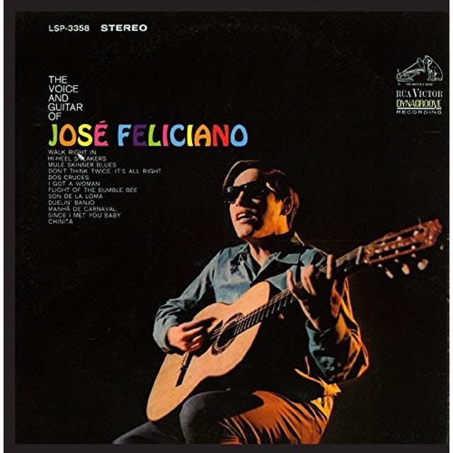 VOICE AND GUITAR OF JOSE FELICIANO CD