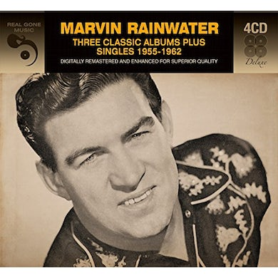 Marvin Rainwater 3 CLASSSIC ALBUMS PLUS SINGLES CD
