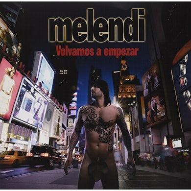 Melendi VOLVAMOS A EMPEZAR Vinyl Record