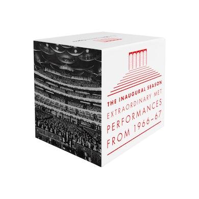 Metropolitan Opera INAUGURAL SEASON: EXTRAORDINARY MET PERFORMANCES Vinyl Record