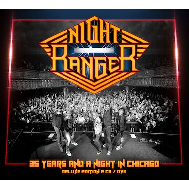 Night Ranger 35 YEARS & A NIGHT IN CHICAGO CD