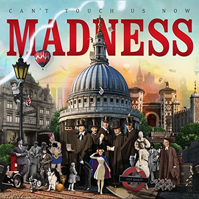 Madness CAN'T TOUCH US NOW CD