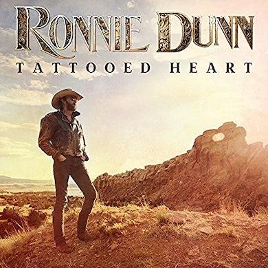 Ronnie Dunn TATTOOED HEART Vinyl Record