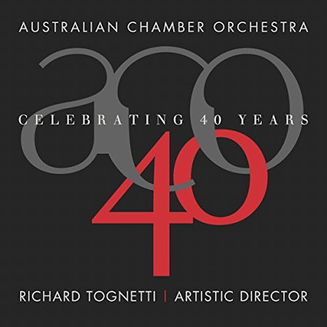 Australian Chamber Orchestra CELEBRATING 40 YEARS CD