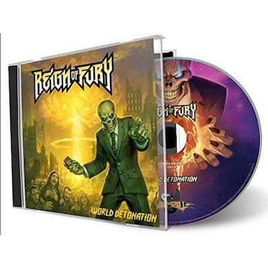 Reign Of Fury WORLD DETONATION CD