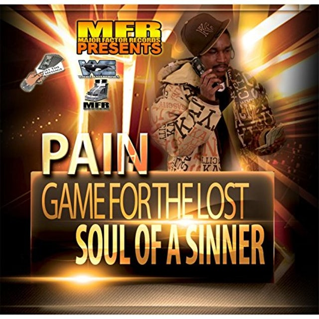 Pain GAME FOR THE LOST / SOUL OF A SINNER CD