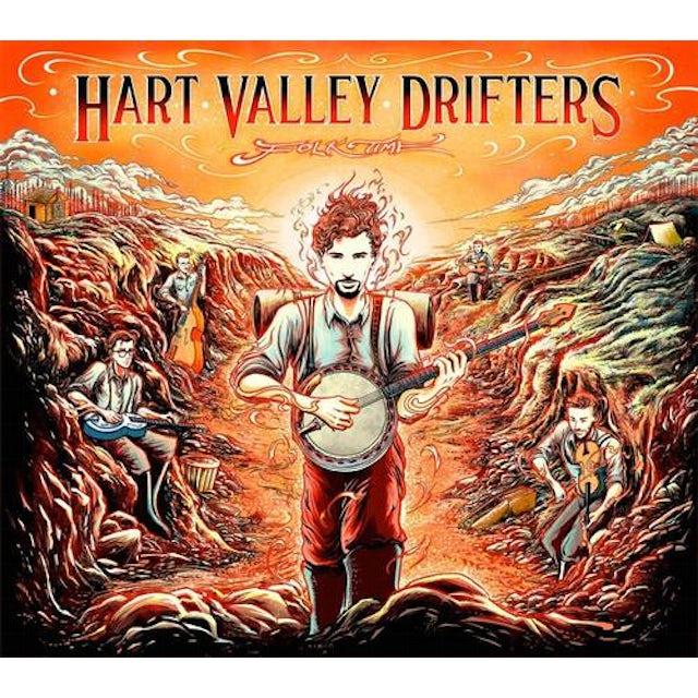 Hart Valley Drifters FOLK TIME CD