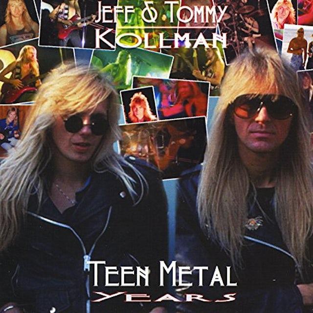 Jeff Kollman TEENAGE METAL YEARS CD