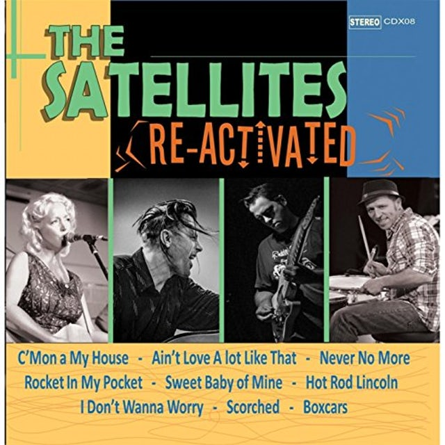 Satellites RE-ACTIVATED CD