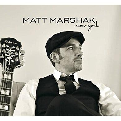 Matt Marshak NEW YORK CD