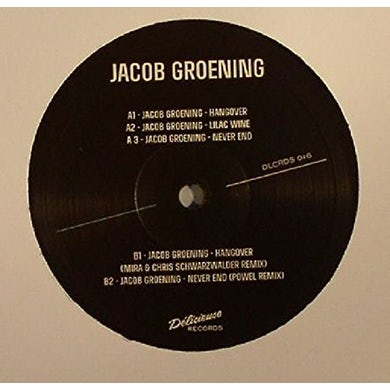 Jacob Groening HANGOVER Vinyl Record