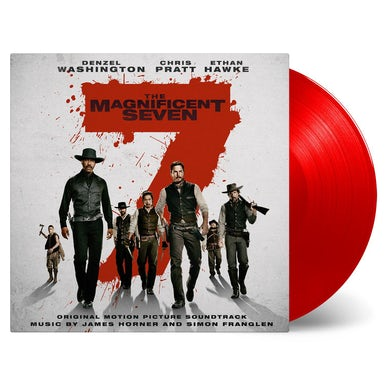 James Horner MAGNIFICENT SEVEN / O.S.T. Vinyl Record - Holland Release