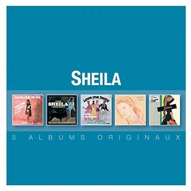Sheila ORIGINAL ALBUM SERIES CD