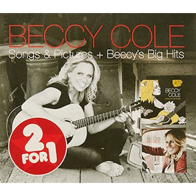Beccy Cole 2 FOR 1: SONGS & PICTURES / BECCY'S BIG HITS CD