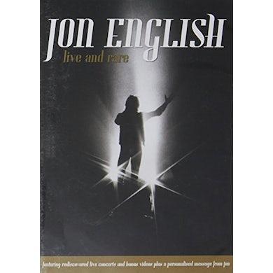 JON ENGLISH: LIVE & RARE DVD