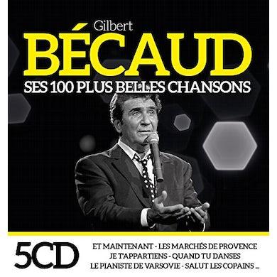 Gilbert Becaud SES 100 PLUS BELLES CHANSONS CD