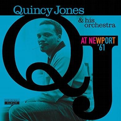 Quincy Jones AT NEWPORT 61 Vinyl Record