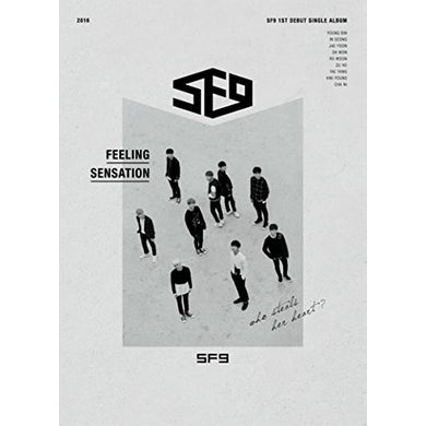 SF9 BEAT & GO TO SLEEP (1ST DEBUT SINGLE ALBUM) CD