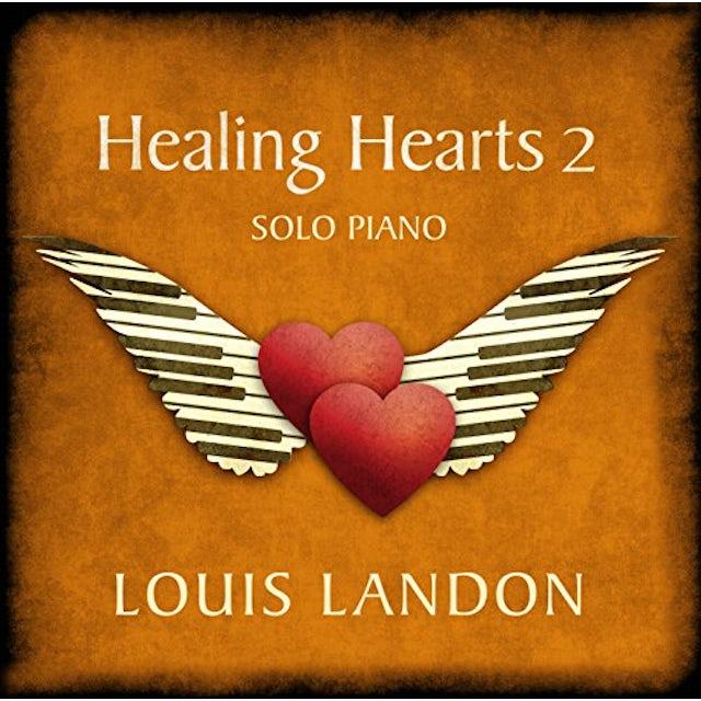 Louis Landon HEALING HEARTS 2 - SOLO PIANO CD