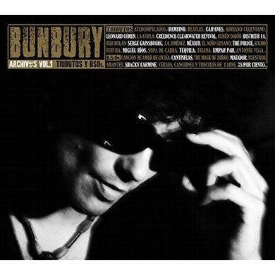 Bunbury ARCHIVOS 1: TRIBUTOS Y BSOS CD