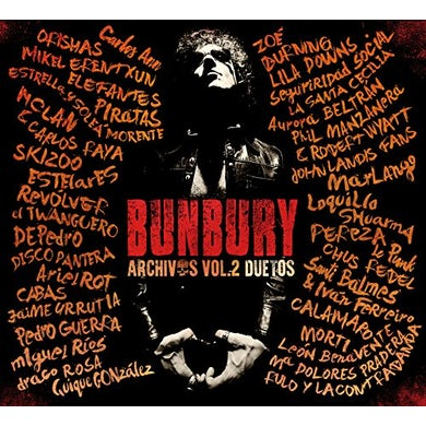 Bunbury ARCHIVOS 2: DUETOS CD