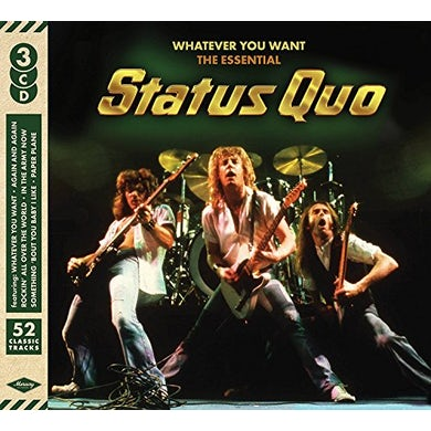 WHATEVER YOU WANT: ESSENTIAL STATUS QUO CD
