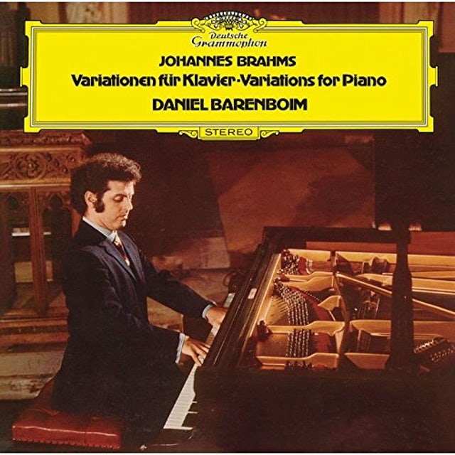 Daniel Barenboim BRAHMS: THEME & VARIATIONS CD