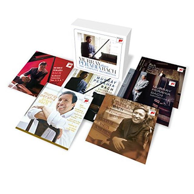 Perahia PLAYS BACH: COMPLETE RFECORDINGS CD