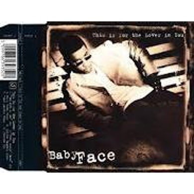 Babyface THIS IS FOR THE LOVER IN YOU (4 MIXES) CD