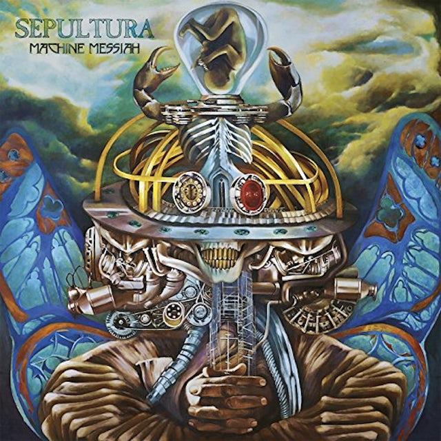 Sepultura MACHINE MESSIAH Vinyl Record