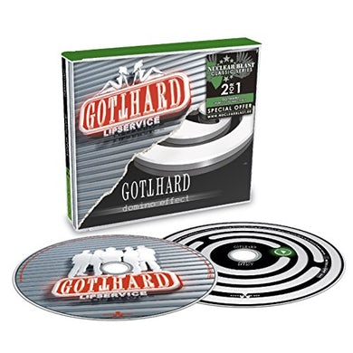 Gotthard LIPSERVICE / DOMINO EFFECT CD