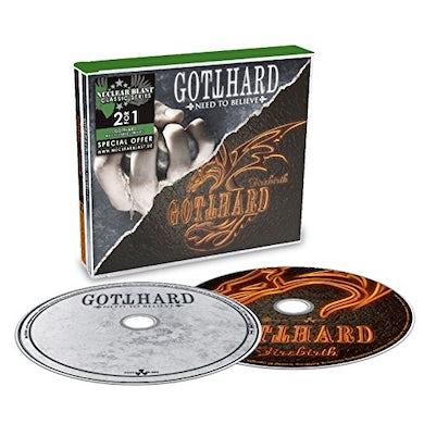 Gotthard NEED TO BELIEVE / FIREBIRTH CD