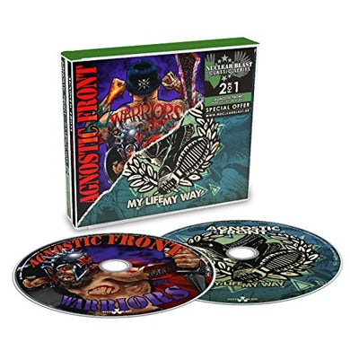 Agnostic Front WARRIORS / MY LIFE / MY WAY CD
