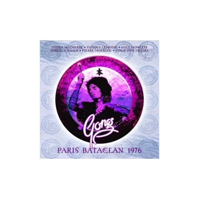 Pierre Moerlen's Gong LIVE AT THE BATACLAN PARIS CD