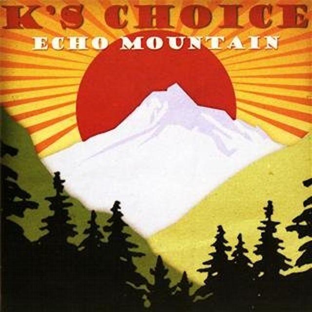 K's Choice ECHO MOUNTAIN CD