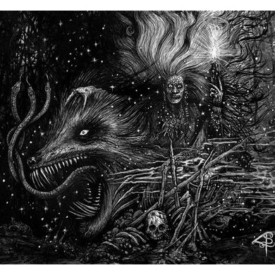 GRAFVITNIR OBEISANCE TO A WITCH MOON CD