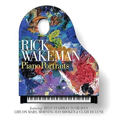 Rick Wakeman PIANO PORTRAITS CD