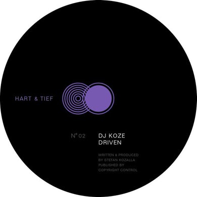 Dj Koze / Robag Wruhme DRIVEN / X-MOP 198 Vinyl Record
