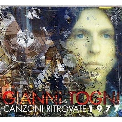 Gianni Togni CANZONI RITROVATE 1977 CD