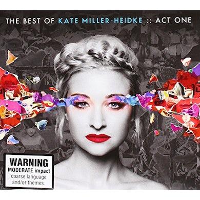 BEST OF KATE MILLER-HEIDKE: ACT ONE CD