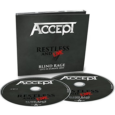 Accept RESTLESS & LIVE CD