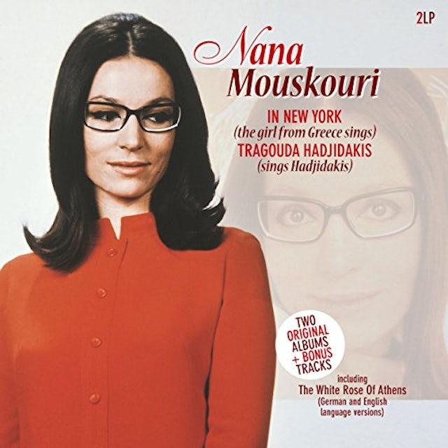 Nana Mouskouri IN NEW YORK Vinyl Record
