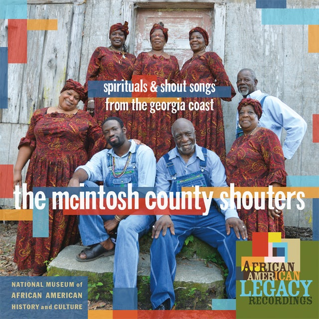 McIntosh County Shouters SPIRITUALS & SHOUT SONGS FROM THE GEORGIA COAST CD
