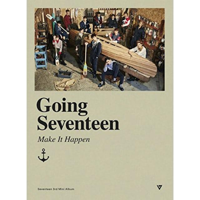 GOING SEVENTEEN [MAKE IT HAPPEN VERSION] CD
