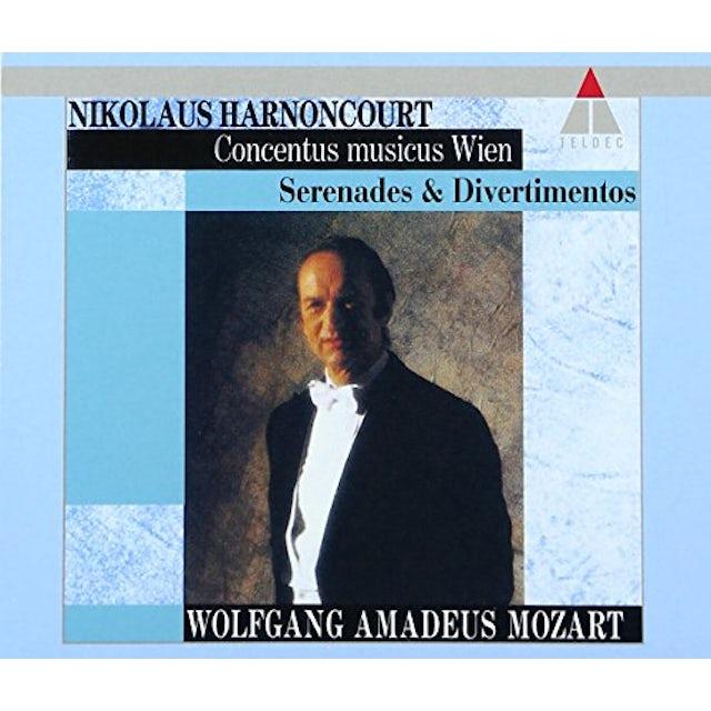 Mozart / Nikolaus Harnoncourt MOZART: SERENADE / DIVERTIMENTO CD