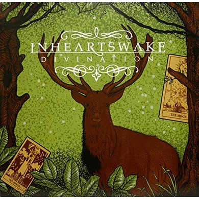 In Hearts Wake DIVINATION (CLEAR SEAFOAM GREEN VINYL) Vinyl Record