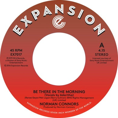 Norman Connors BE THERE IN THE MORNING / I DON'T NEED NOBODY ELSE Vinyl Record