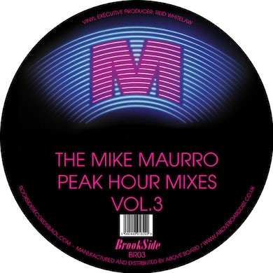 George Duke MIKE MAURRO PEAK HOUR MIXES VOL. 3 Vinyl Record