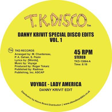 Voyage DANNY KRIVIT SPECIAL DISCO EDITS VOL. 1 Vinyl Record
