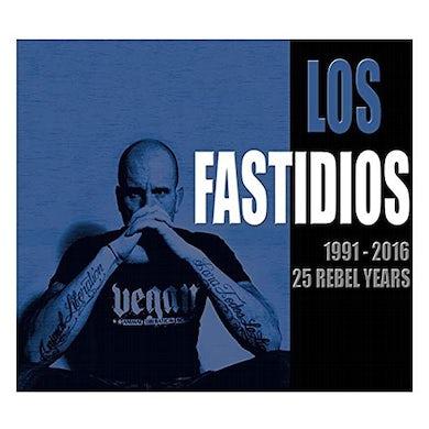 Los Fastidios 1991-2016: 25 REBEL YEARS CD